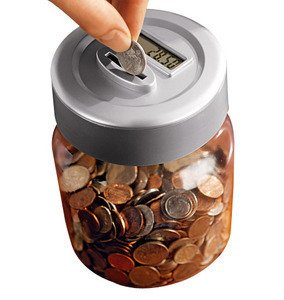 digital coin counting jar instructions