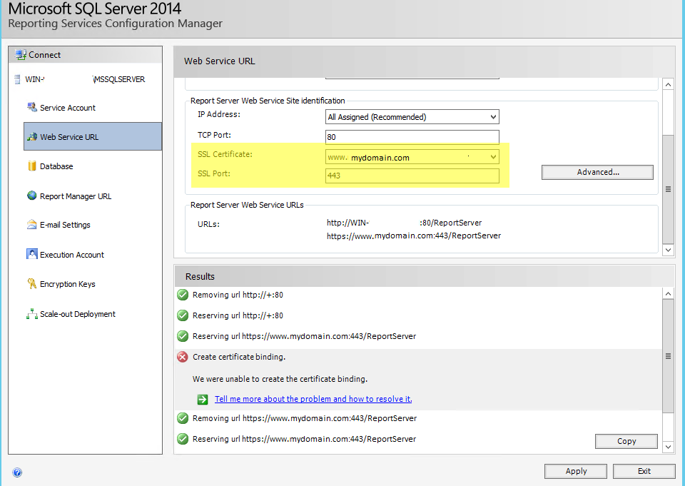 System runtime interopservices comexception the report application server failed