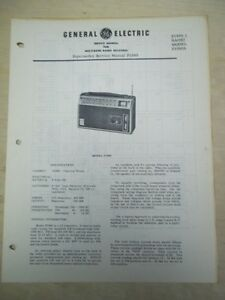 general electric stereo monitor tv manual