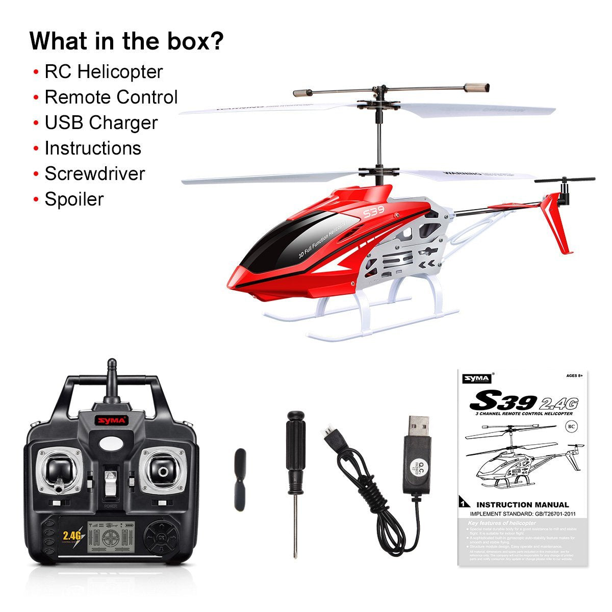 opration manual for gyro helicopter