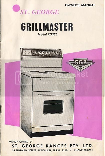st george oven 8700100ps manual
