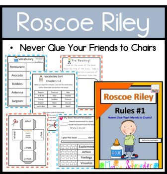 Roscoe riley rules guided reading level