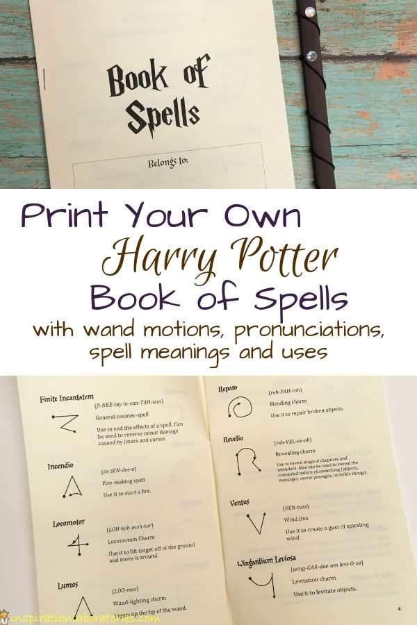 Harry potter spells and what they do pdf