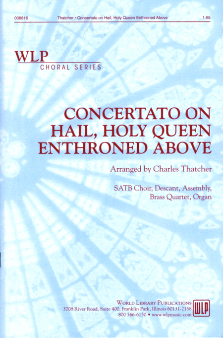 Hail holy queen enthroned above pdf