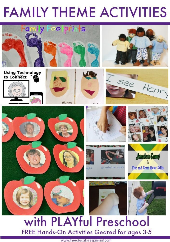 Activities theme for daycare pdf