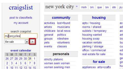 Craiglist how to change the sity of post