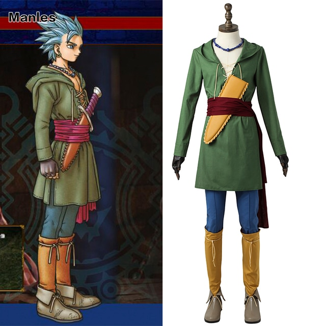 Dragon quest 8 how to change outfits