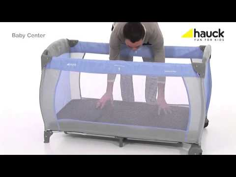 hauck babycenter travel cot instructions