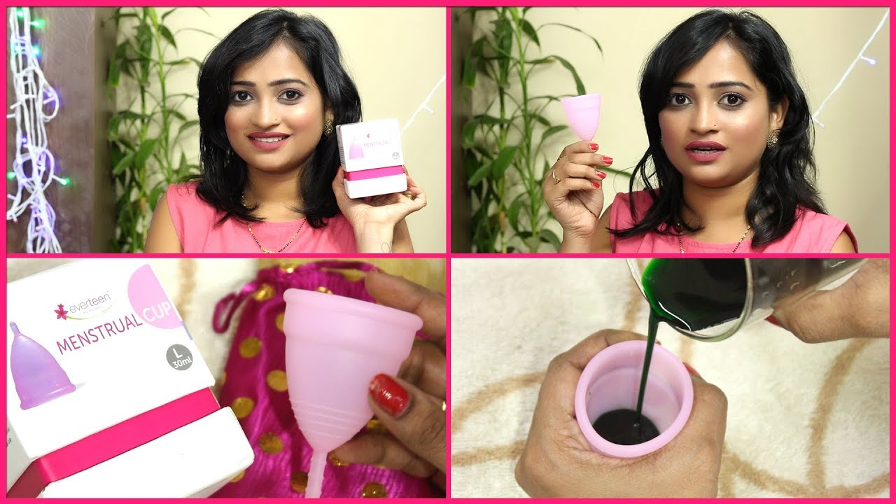 instructions for menstrual cup insert