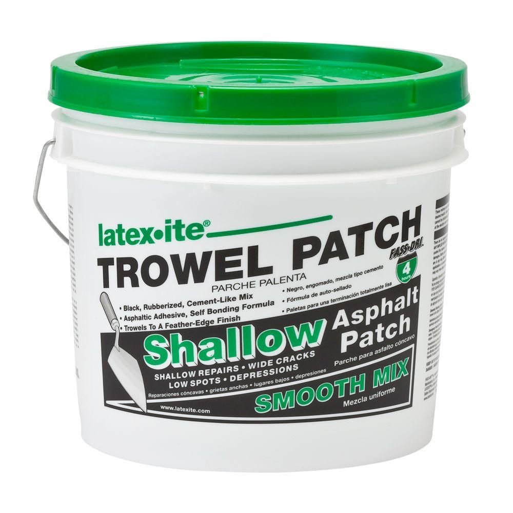 latex ite trowel patch instructions