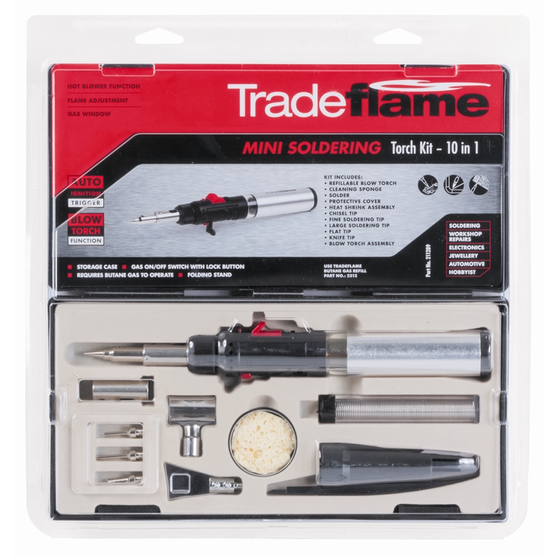 tradeflame mini soldering torch instructions