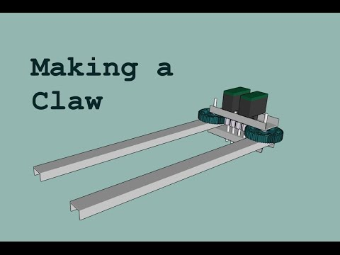 vex robot claw instructions